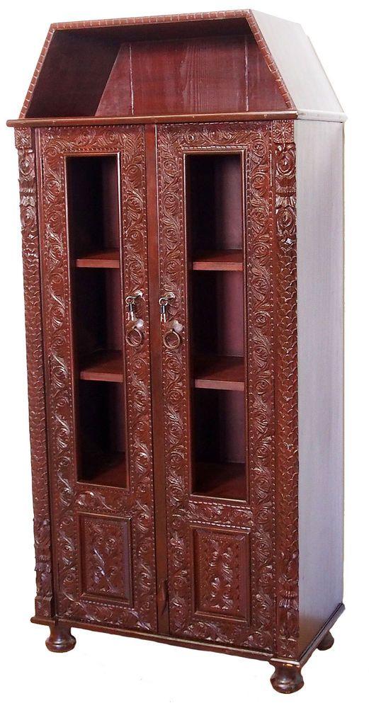 Antik Look Orient Massiv Schrank Kommode Sideboard Regal Afghan Nuristan Bedroom