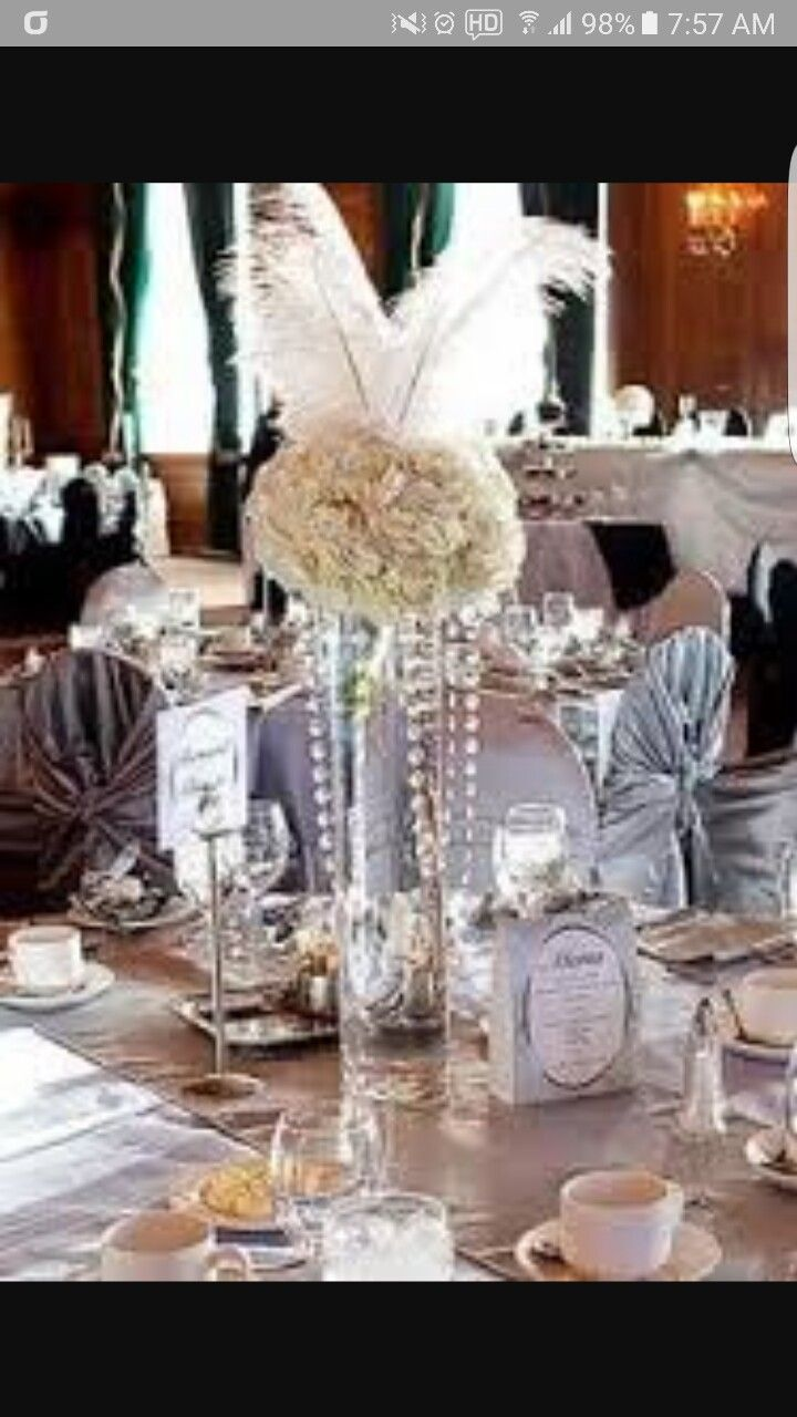 Great Gatsby Party Decorations By The One On Diamonds And Pearls