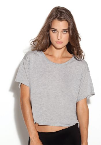 3fc5bf625130c Always be in style with Bella Ladies  Flowy Boxy T-Shirt. Get these as personalized  shirts or plain.  discountmugs  croppedtops  fashion  tops