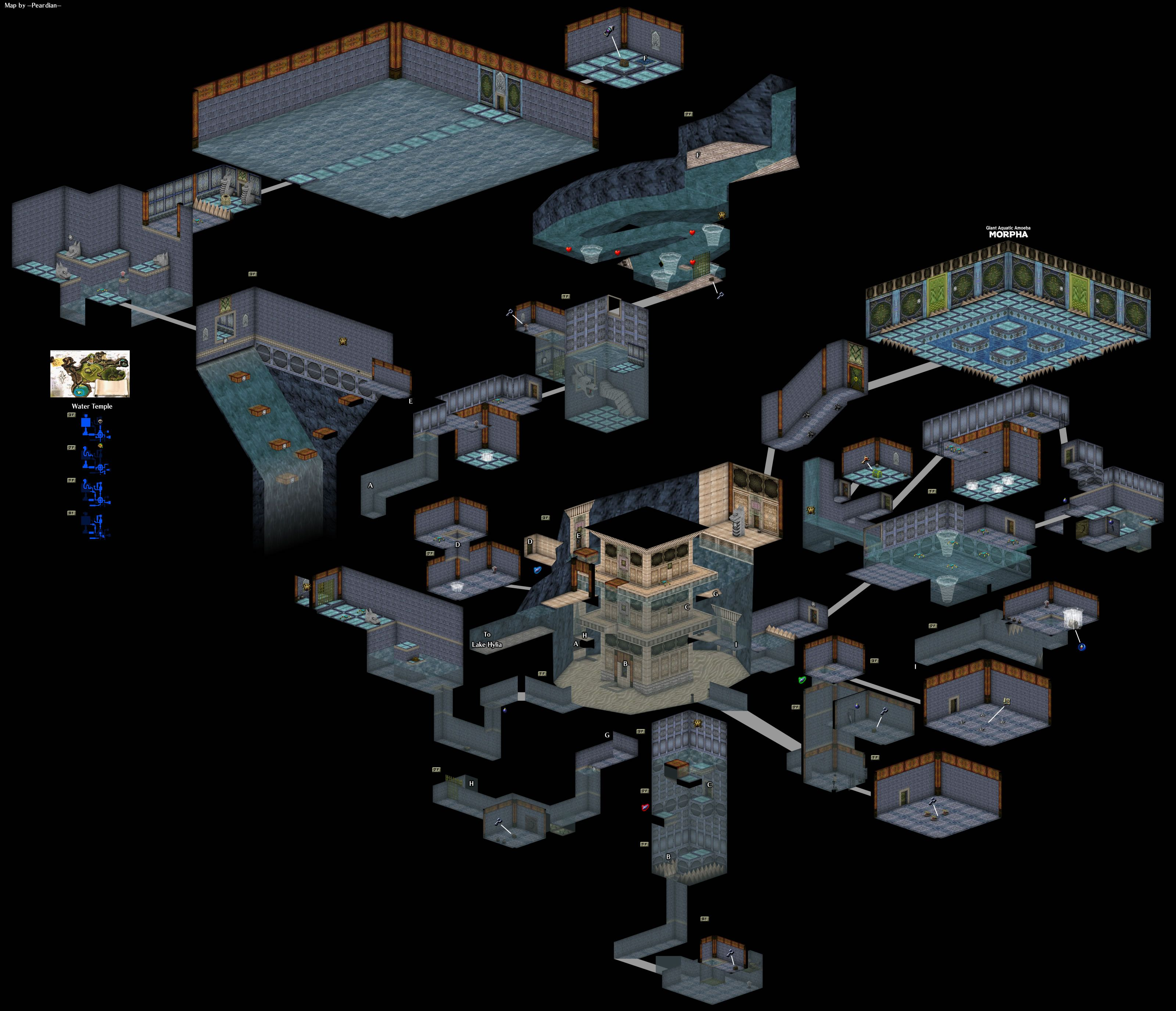 Zelda Ocarina of Time had some Beautiful Level Layouts [Spoilers