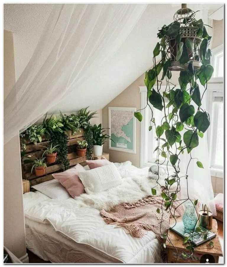 Minimalistbedroom Decor: 59+ Stunning Bohemian Bedroom Decor For Small Space 29 In