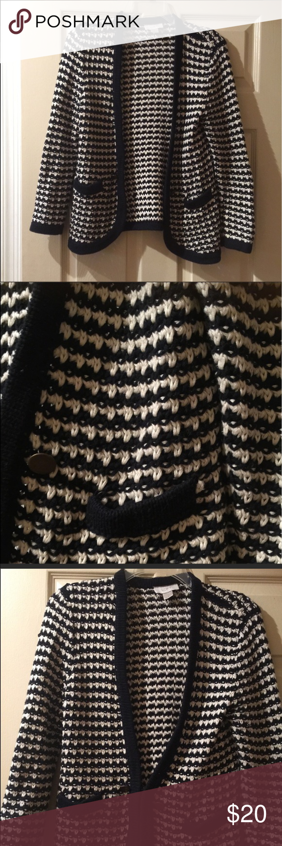 Ann Taylor loft sweater 100% cotton 100% cotton . Great condition Ann Taylor Sweaters Cardigans