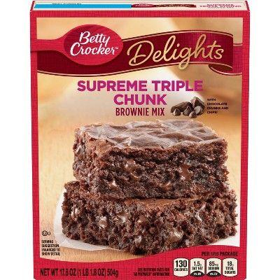 Betty Crocker Supreme Triple Chunk Brownie Mix 17 8oz Betty