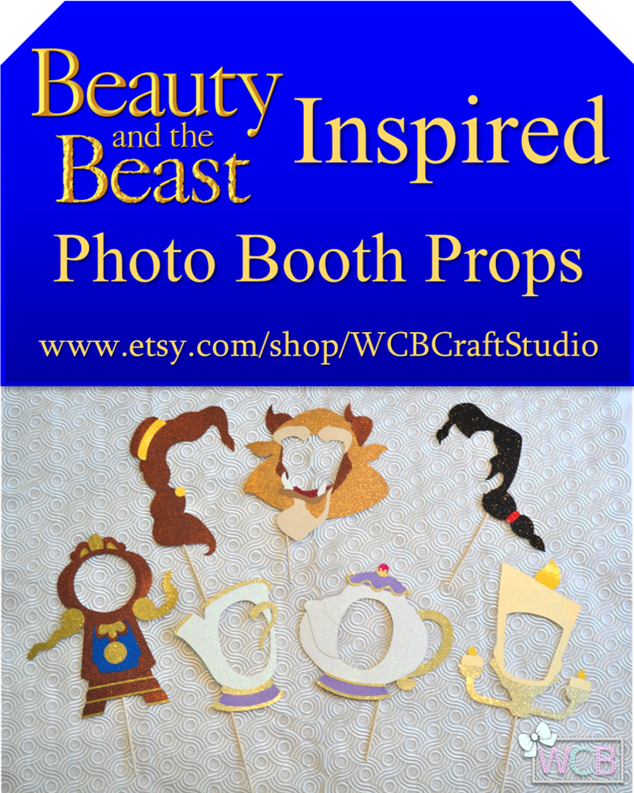 Inspired By Disney Classic Beauty And The Beast This Photo Booth
