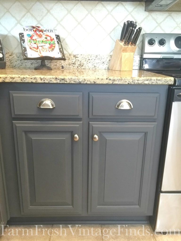 Painting Kitchen Cabinets With General Finishes Milk Paint - Milk paint for kitchen cabinets