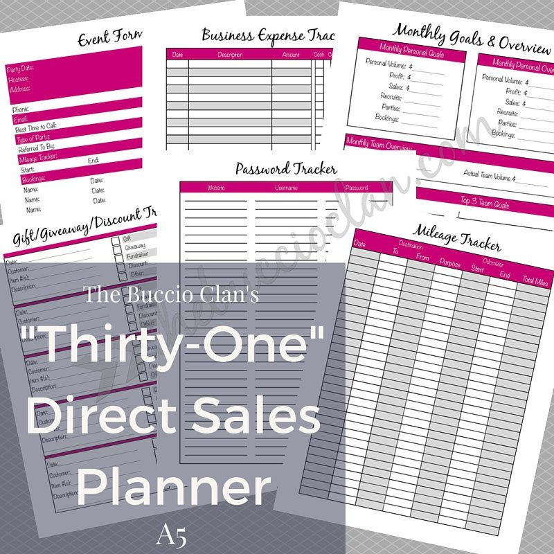New to GracefulPrintables on Etsy Thirty One Planner