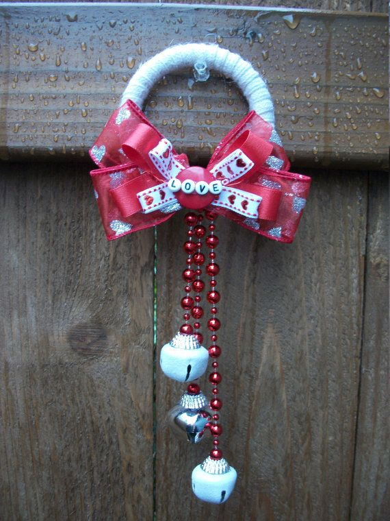 door decor valentines day door knob hanger wall by badcatcraft