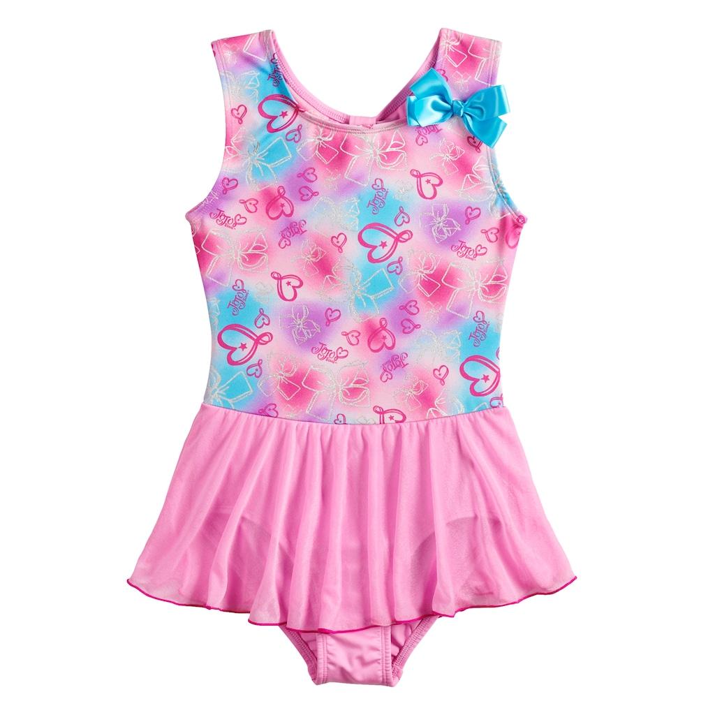 1083f691f Girls 4-14 Jacques Moret JoJo Siwa Bow Print Pink Skirtall in 2019 ...