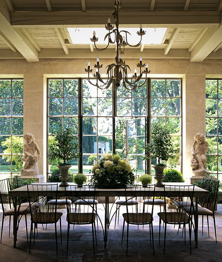Dining Room Windows: Dining Room, Tim Clinch Photo