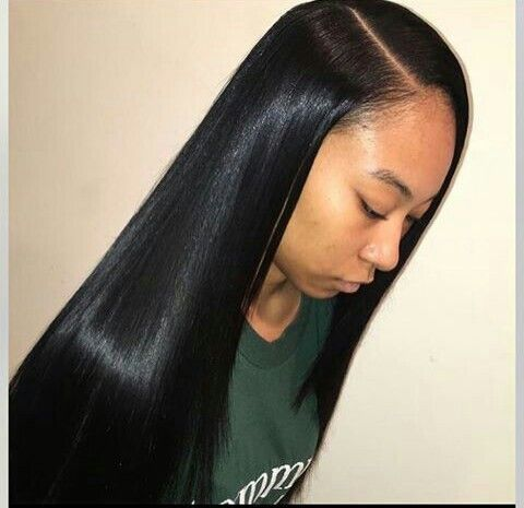 Clic Lace Wigs How I Install My Quick Weave With Closure Straight Hairstylessew In