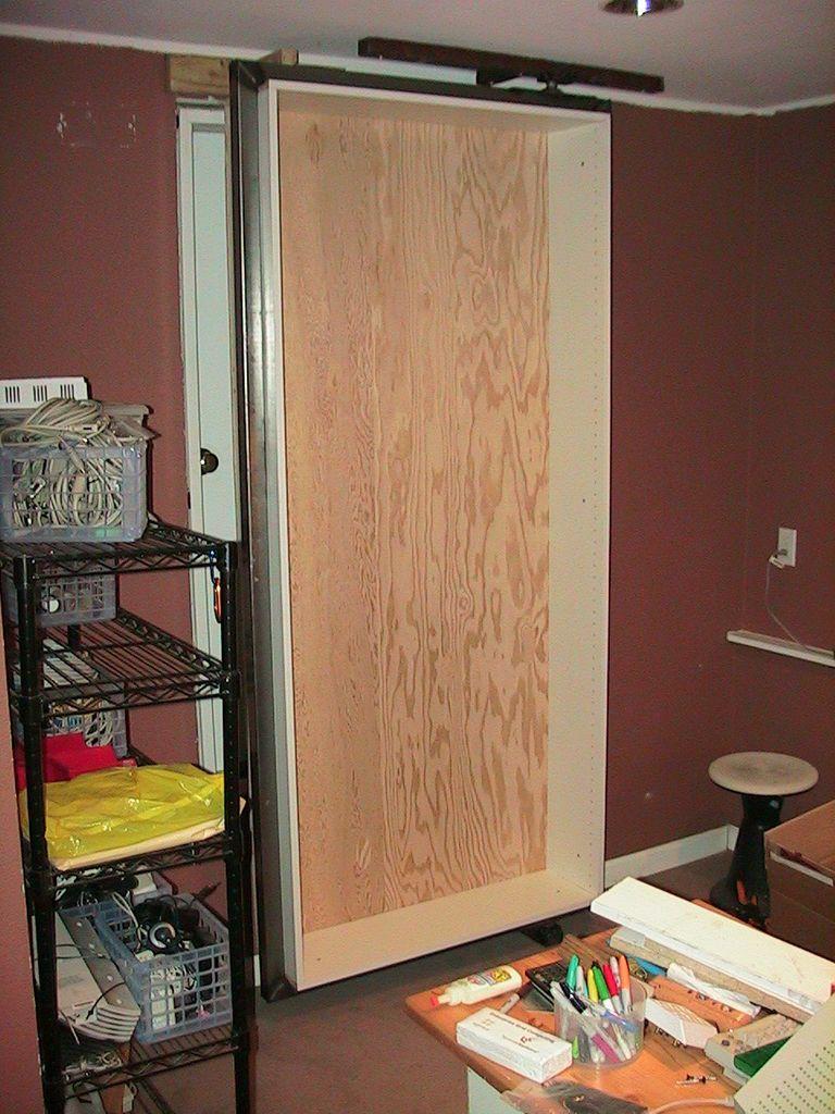 Hidden Door Bookshelf (With Images)