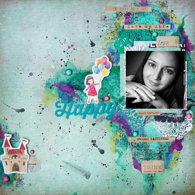 Scrapbooking by Nastya M: Дебют года - 2015! Стартуем! #mixedmedia #scrapbooking #lo