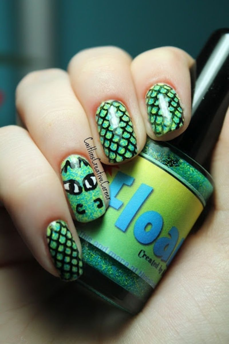 The 30 Best Dragon Nail Art Designs In The Whole World