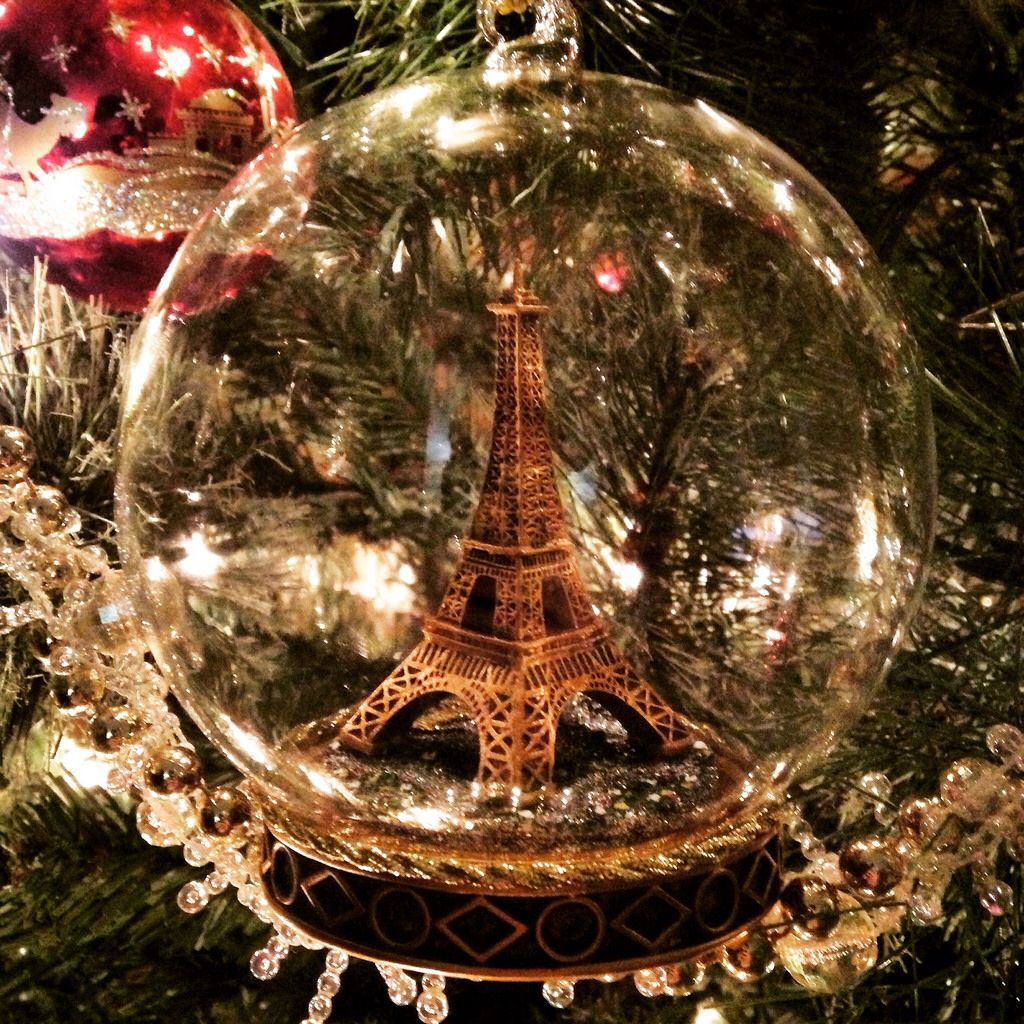 Paris Christmas Ornament.Best Ornament Received This Year For Our Tree Paris