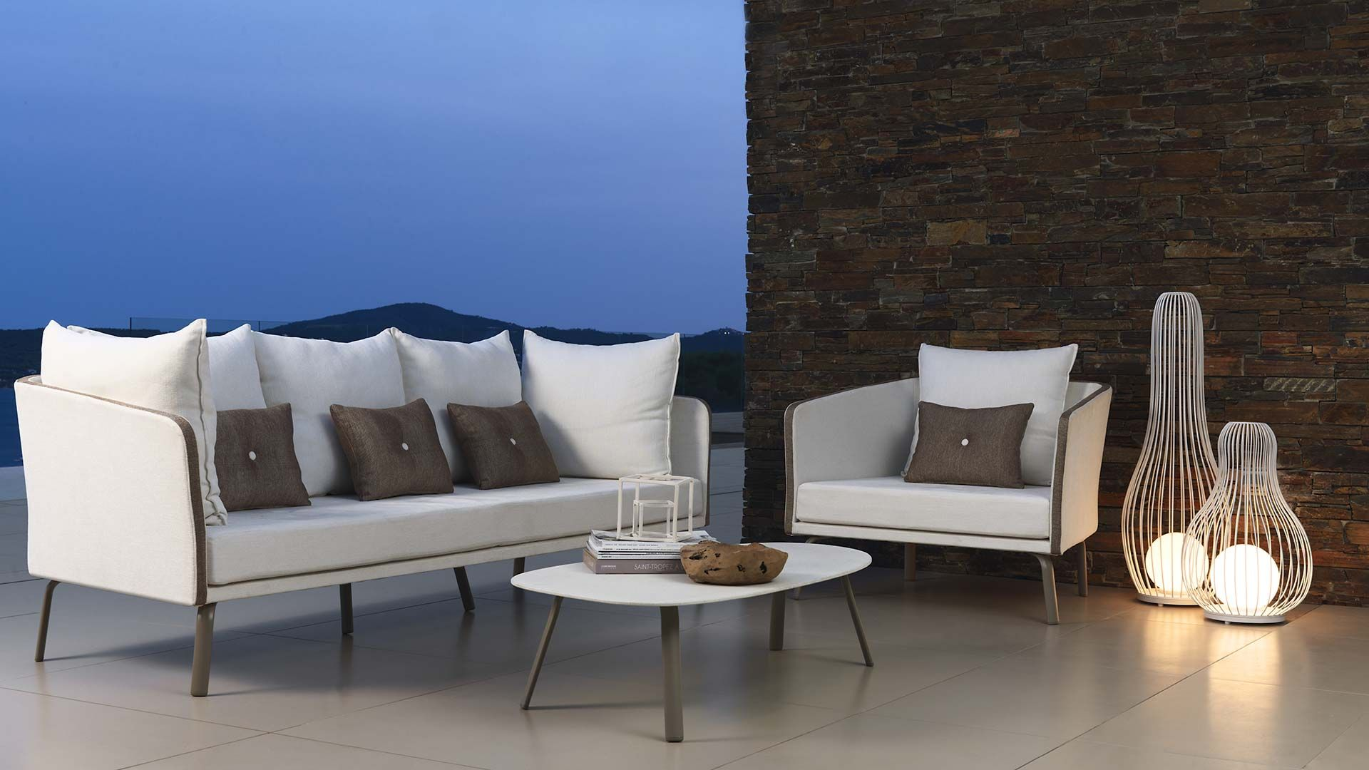 Talenti outdoor furniture from italy sofa armchairs chairs luxury coastal living
