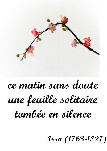 Haiku 31juillet2010 Poeme Japonais Haiku Francais Et