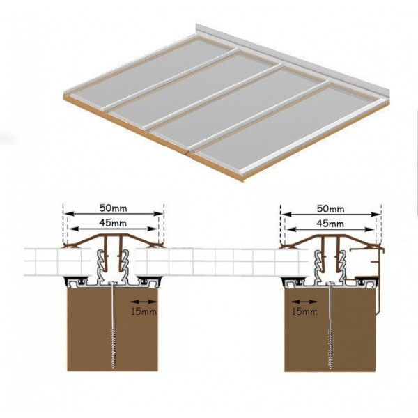 6m Long X 2 9m Wide Polycarbonate Roof Polycarbonate Facade Cladding Roof Design