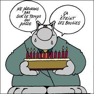 Joyeux Anniversaire Philippe Geluck Le Chat Voeux Anniversaire