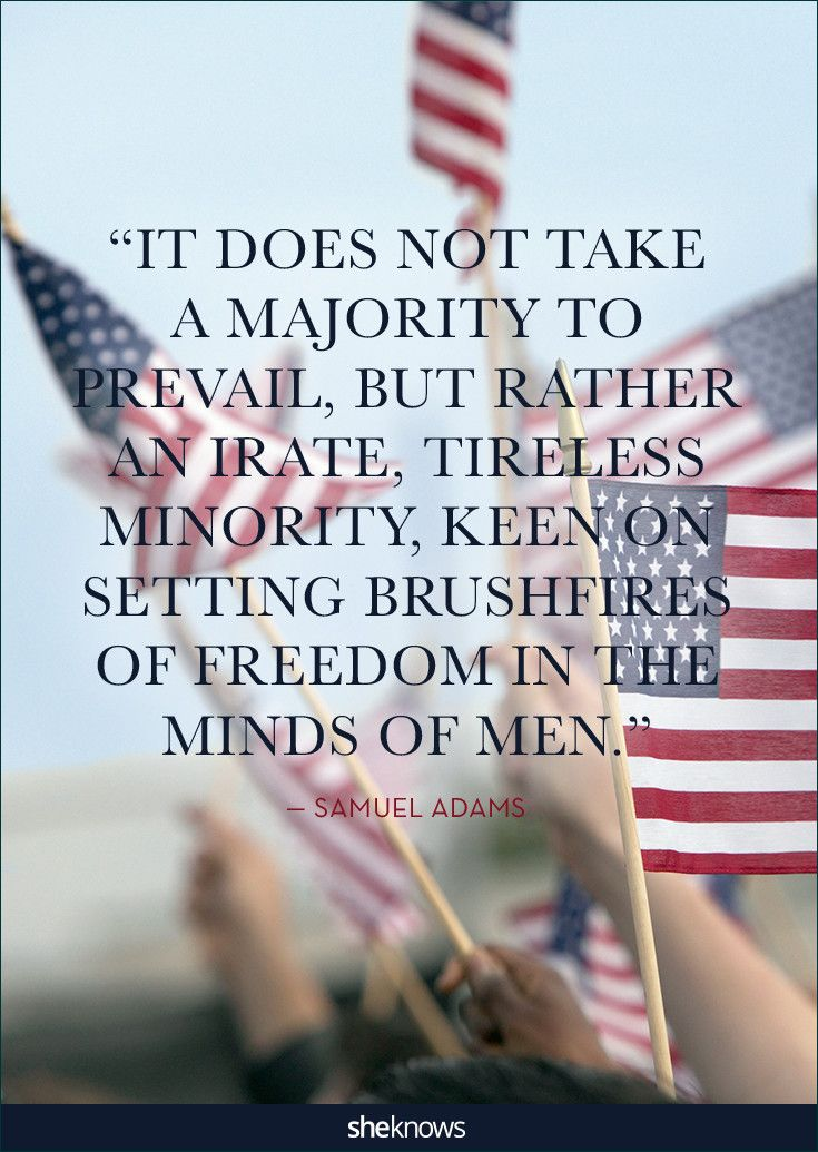 Patriotic Quotes Inspiration 25 Quotes About America That'll Put You In A Patriotic Mood . Inspiration