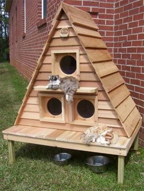 20 Modern Pet House Design Ideas for Cats and Dogs | Cat ...