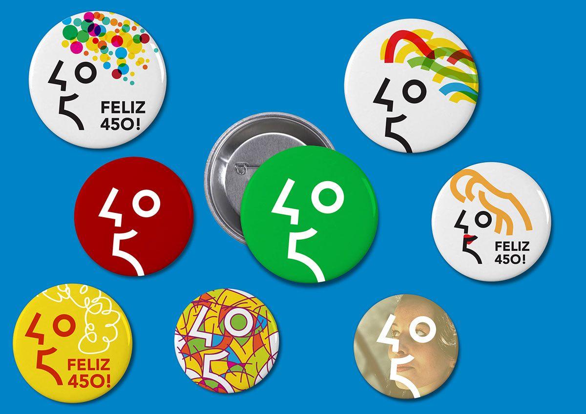 MARCA RIO 450 ANOS on Behance