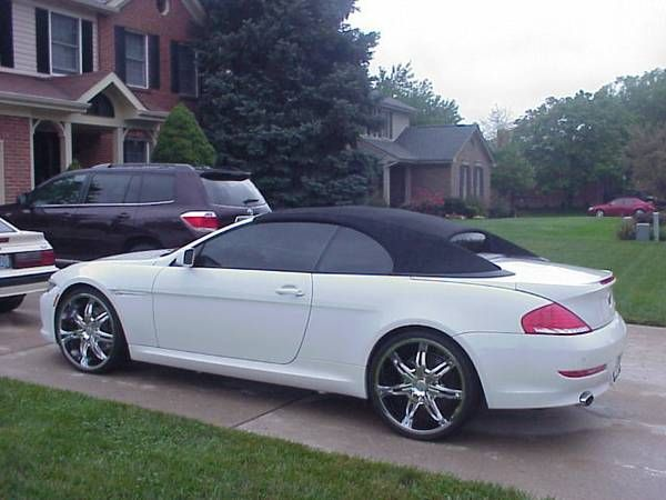 Bmw 650i convertible 2008