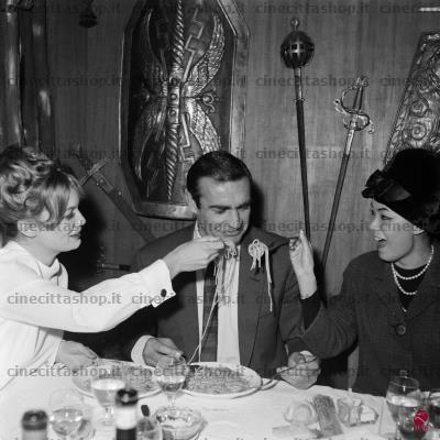 Sean Connery, Roma, 1963