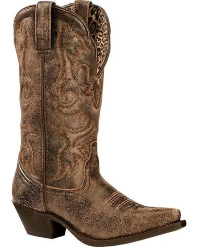 b270f3fcfc81 Laredo Access Cowgirl Boots - Extended Calf Sizes - Snip Toe in 2019 ...