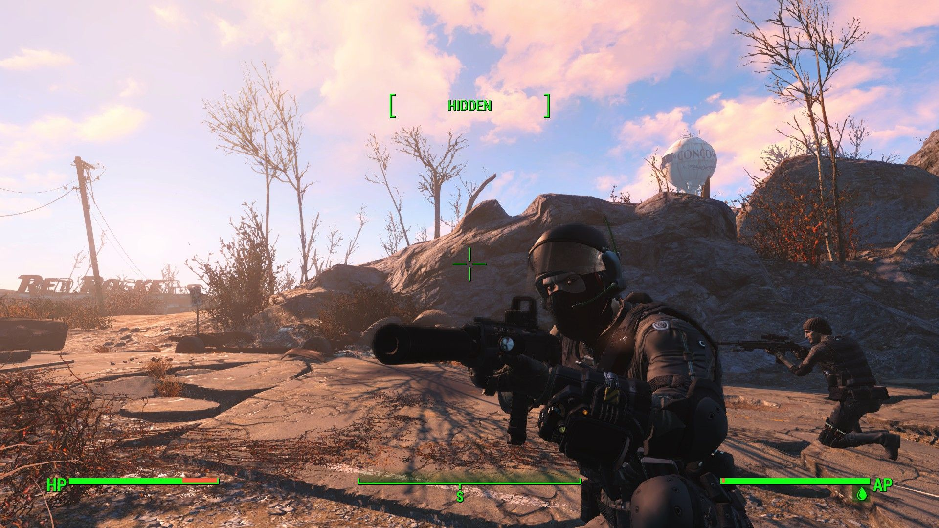 Took a lot of mods to make this GIGN Special Forces setup  I