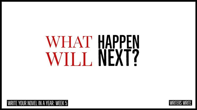 What Will Happen Next With Images Writers Write Novel Writing