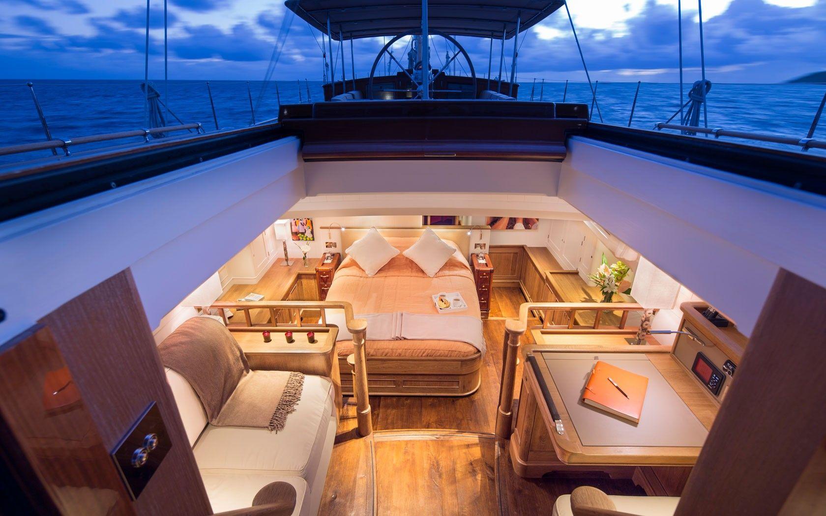 Innenarchitektur Yacht yacht pumula yachting