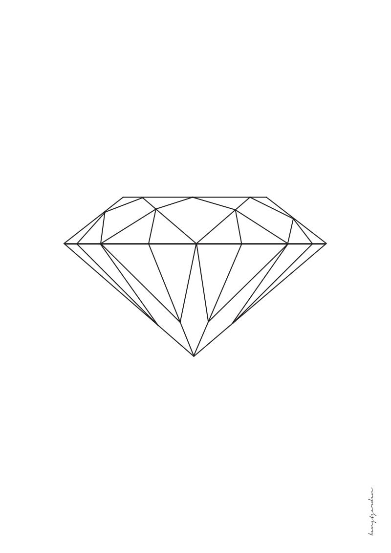 diamond tote bagre I ate diamond for breakfast