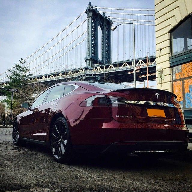 Spotted Model S Down Under The Manhattan Bridge Nyc Manhattan