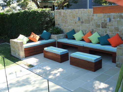 Image Detail For Outdoor Bench Seating With Storage 400 x 300