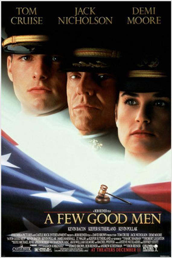 A Few Good Men Movie Poster Tom Cruise Jack Nicholson Demi Moore Drama 24x36 In 2021 Best Man Movie Full Movies Online Free Worst Movies