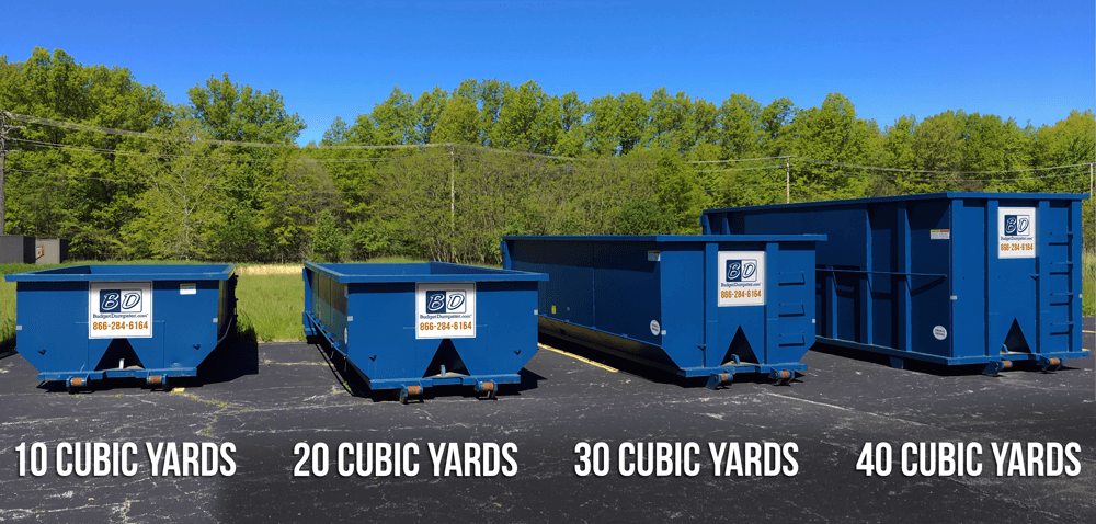 Understanding Dumpster Dimensions And Cubic Yards Budget Dumpster Dumpster Sizes Yard Dumpster