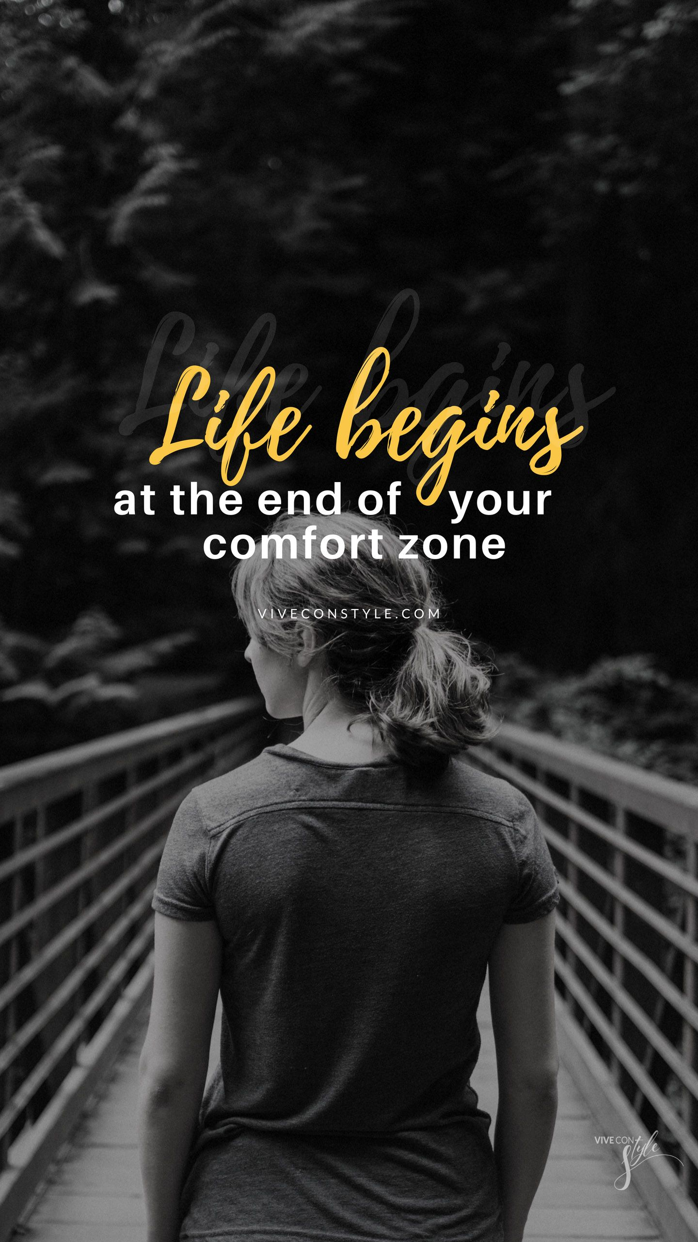 Life Begins Mobile Wallpaper New Quotes Inspirational Quotes Wallpapers Wallpaper Quotes