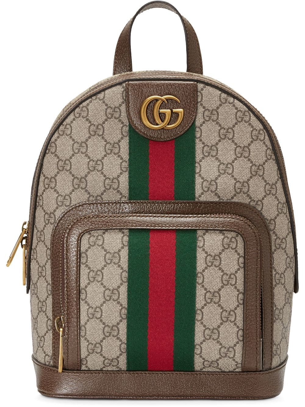 GUCCI GUCCI OPHIDIA GG SMALL BACKPACK - BROWN.  gucci  bags  backpacks bb8b8638601ce