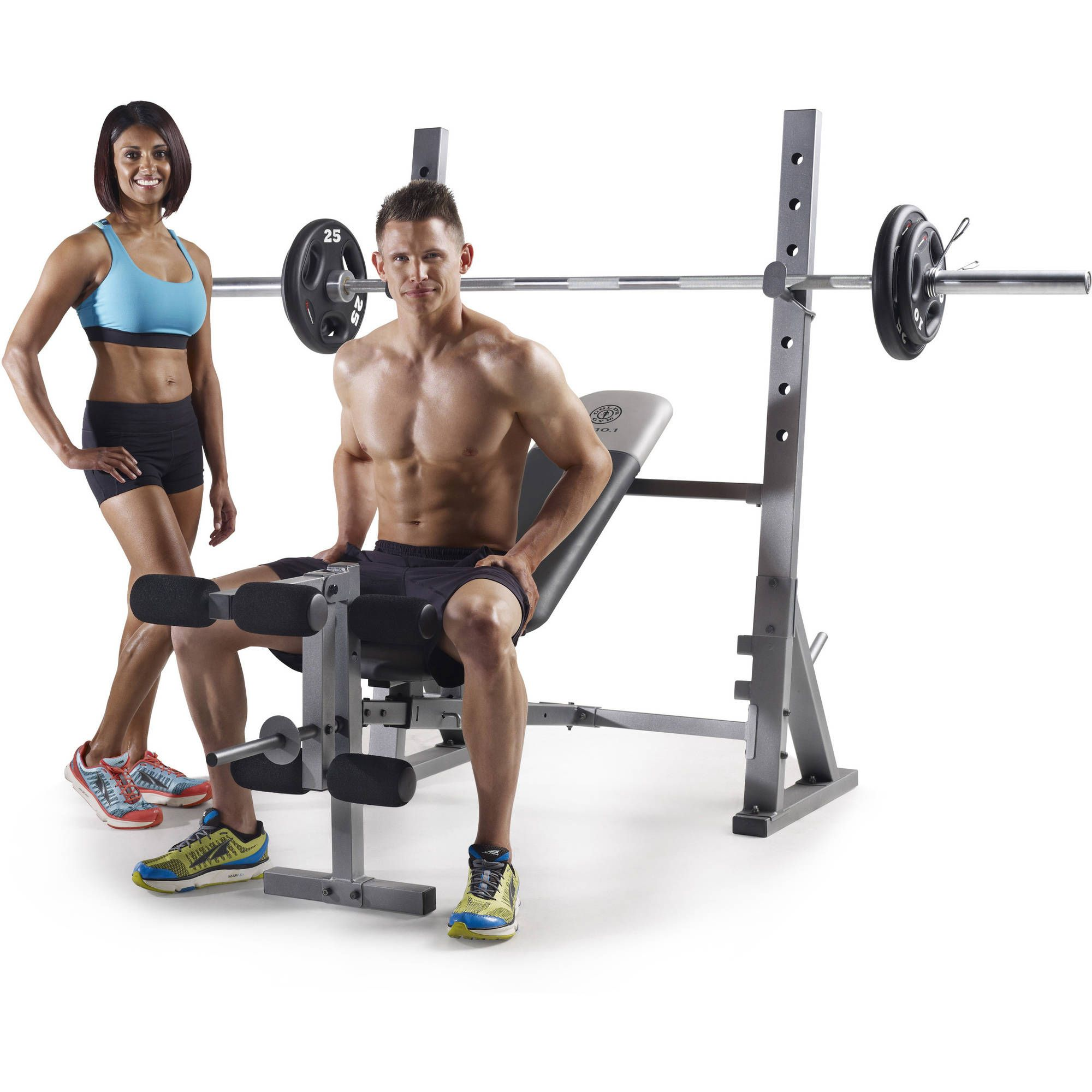 golds gym xr 10 1 olympic weight bench review best fitness