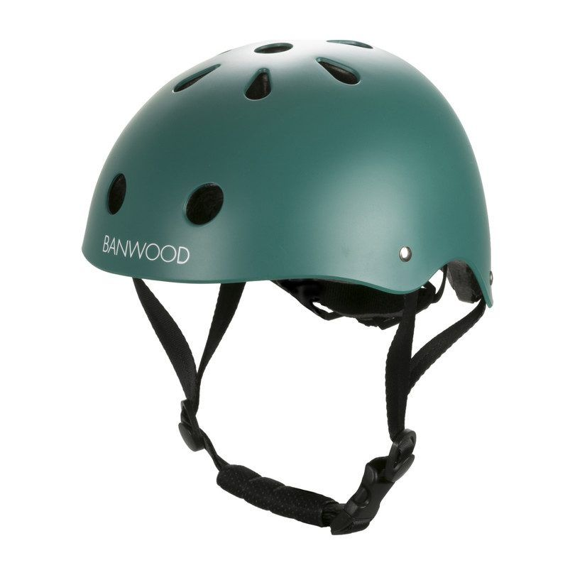 Kids Toys First Go Scoot Bike Helmet Green One Size