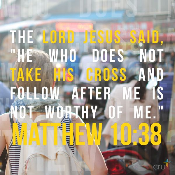 Christ cannot be in control if you are on the throne of your life. So you must abdicate - surrender the throne of your life to Christ. Matthew 10:38