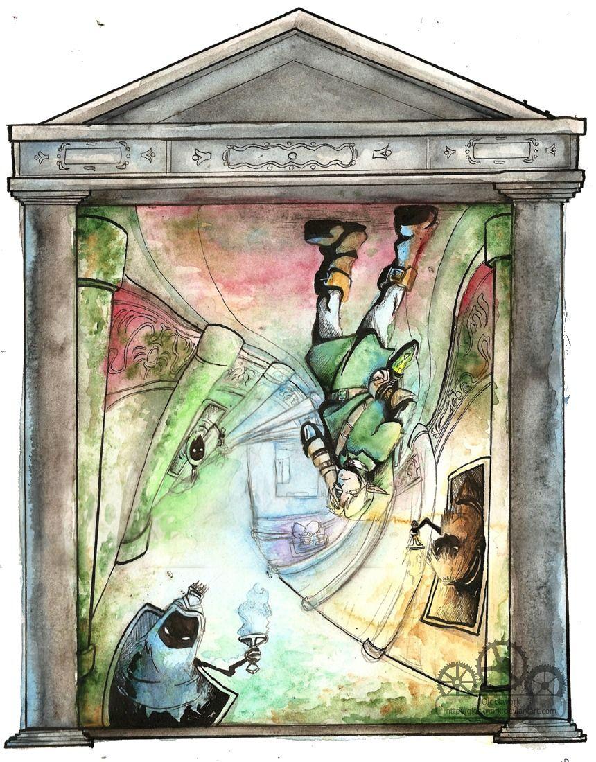Ocarina of Time temples by Qlockwork Legend of zelda