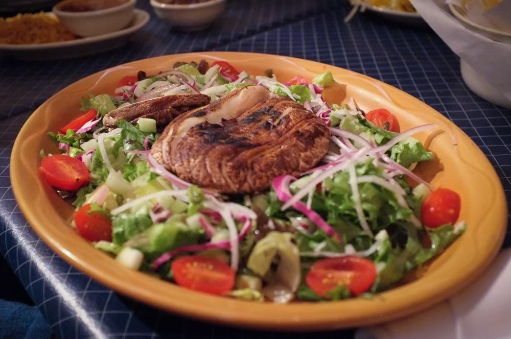 Uncle Julio S Fine Mexican Food Atlanta Ga United States Salad With A Giant Mushroom Mexican Food Recipes Mexican Food Atlanta Food
