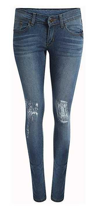 Juicy Trendz Jeans Alto Cintura Ajustado Ofertas Especiales Y Promociones  Caracteristicas Del Producto: Almacén del Reino Unido y la entrega rápida de