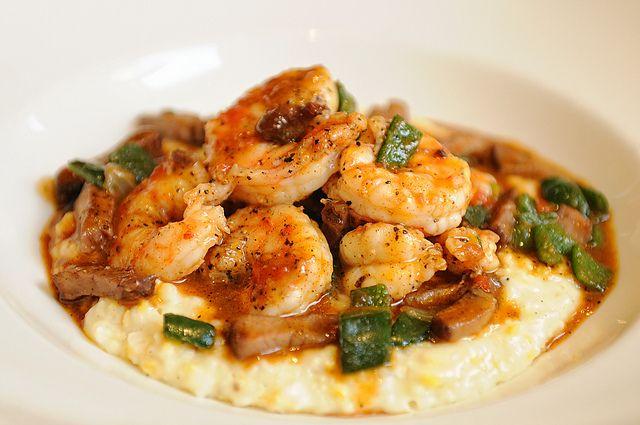 Shrimp Grits Food Eat Food Tasso Recipe