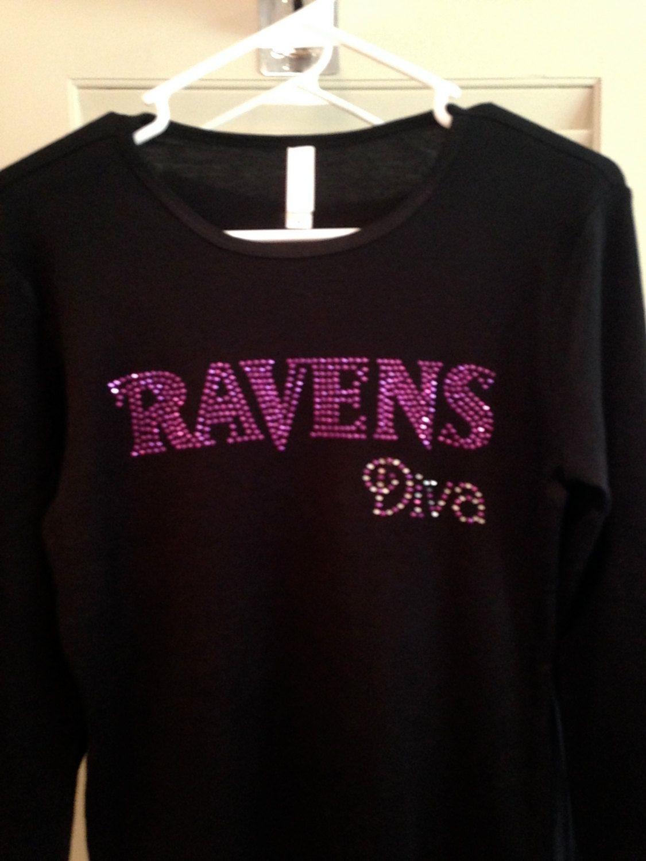 rhinestone ravens shirt