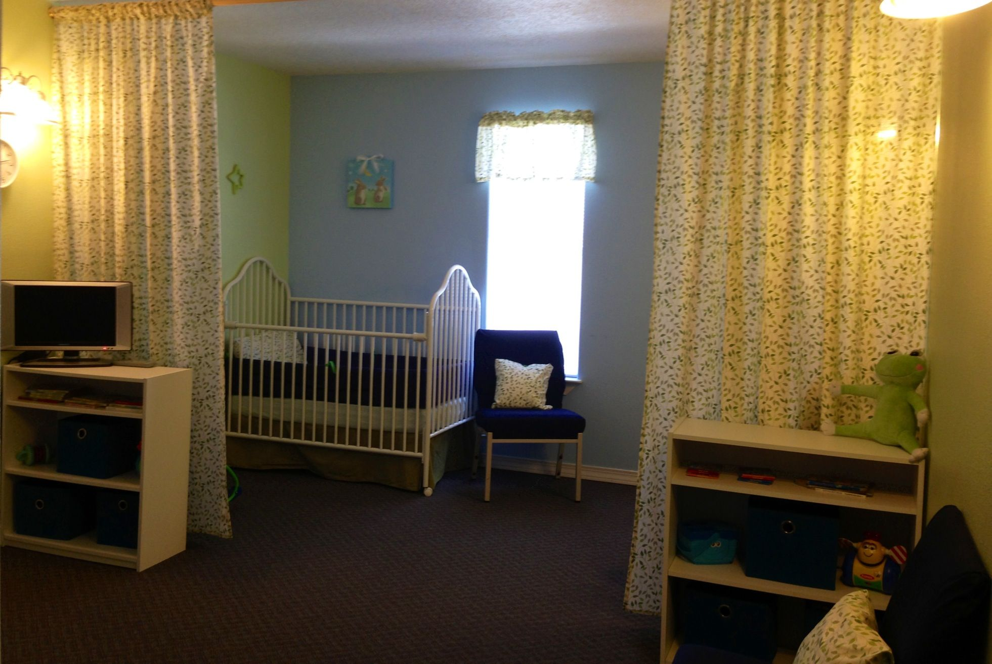 Church Nursery Curtained Nursing And Sleeping Area Jenni Pezley Church Nursery Decor Church Nursery Baby Nursery Wall Colors