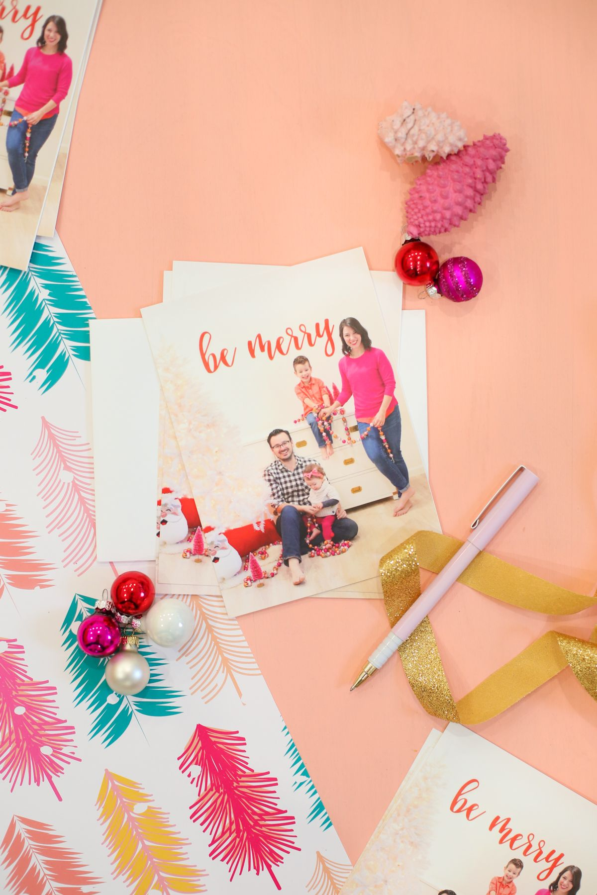 How to graph and Print Your Own Holiday Cards