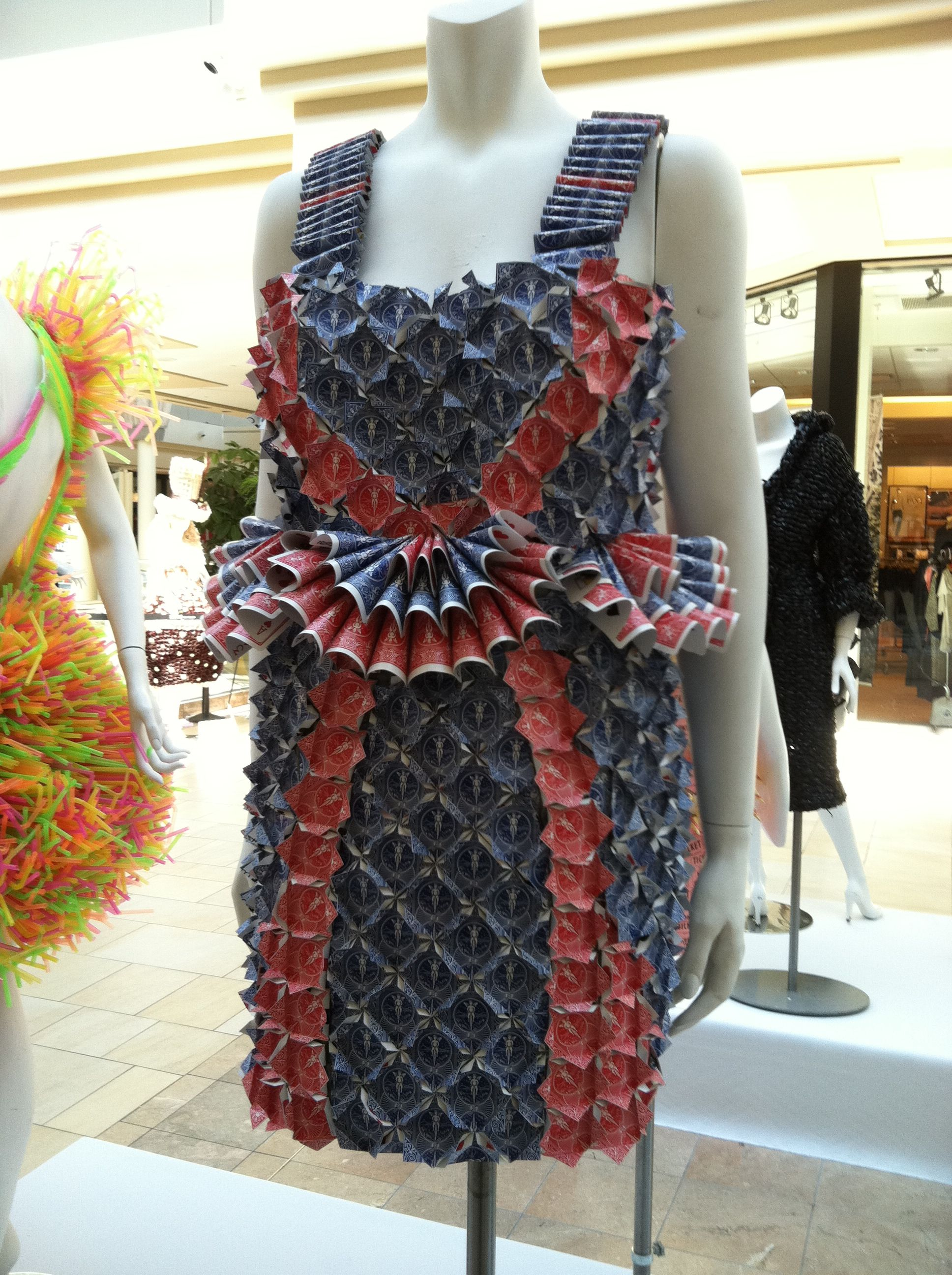 How to wearable make art dresses