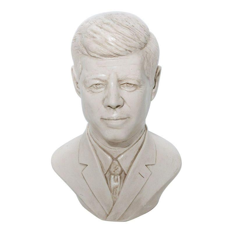Vintage JFK Bust and Bank